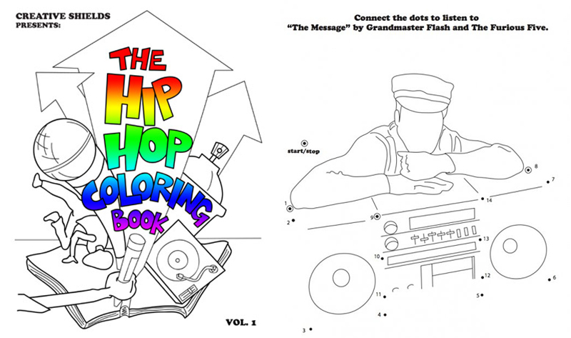 hip hop coloring book 2