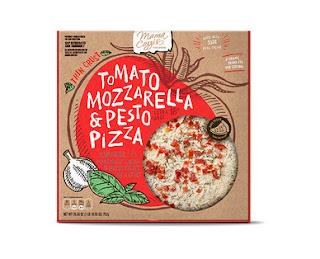 "Stock image of Mama Cozzi's Tomato Mozzarella and Pesto 16"" Extra Large Thin Crust Pizza"