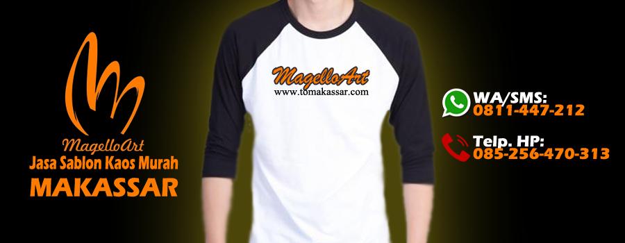 Jasa Sablon Baju Kaos Murah Makassar