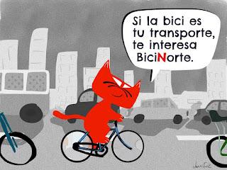 Si la bici es tu transporte, te interesa BiciNorte