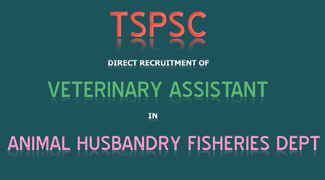 TSPSC-VeterinaryAssistant-Animal-Husbandry-Fisheries-Dept-2017