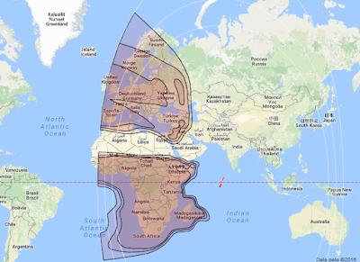 Satelit Intelsat 20 68.5°E KUBand