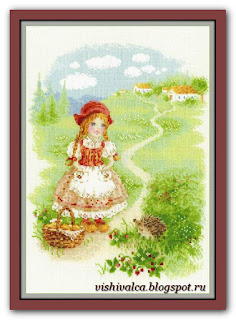 Cross-stitch Riolis 1736 «Little Red Riding Hood»
