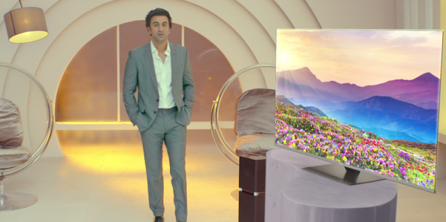 "Panasonic launches ""Beyond Technology. Experience"" campaign featuring Ranbir Kapoor, for its newly launched OLED TV"