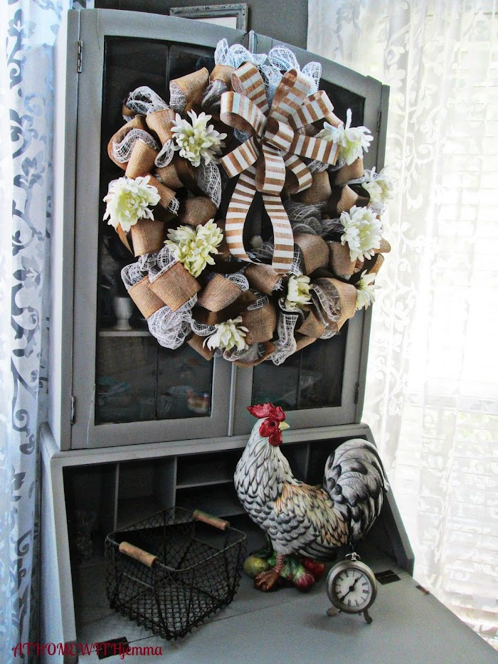 DIY Mid-Summer Wreath Makeover
