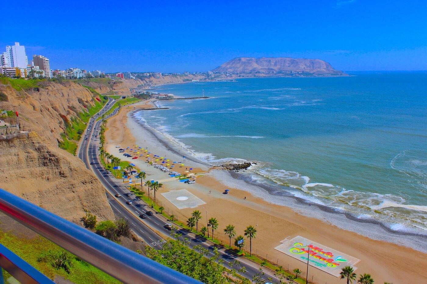 miraflores coastline