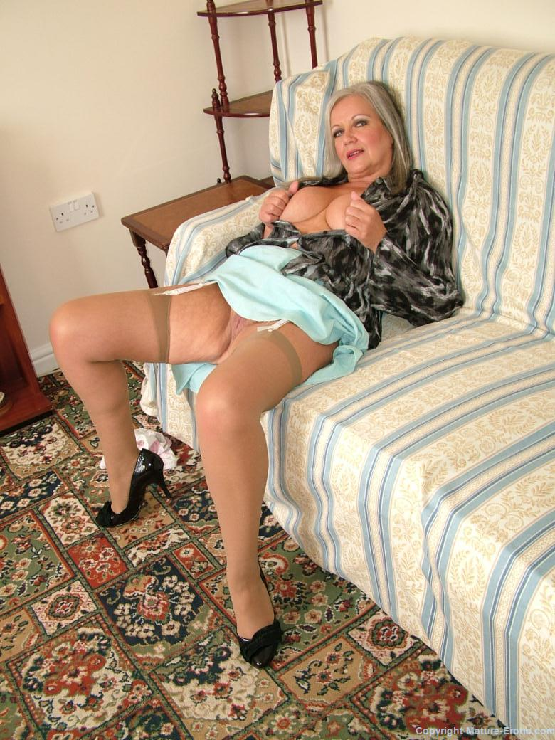 Erotic photographs of mature women