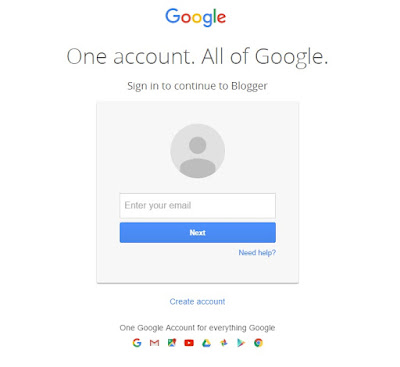 Recently in that place accept been a lot of confusion for logging inwards with Blogger users who previo Sign-in to Blogger using Non-Google Email Address