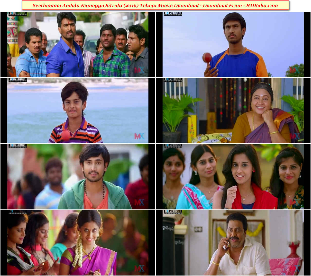 Seethamma Andalu Ramayya Sitralu Telugu Full Movie Download 720p Full HD Direct Download Links