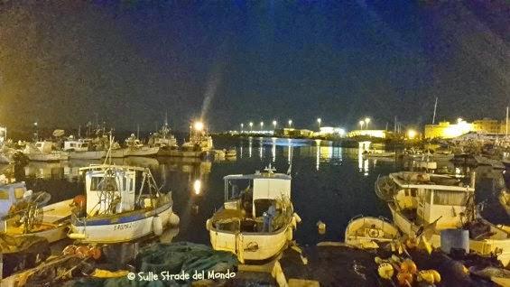 sera al porto di Anzio