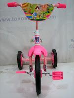 Sepeda Roda Tiga ARAVA  BMX in Pink