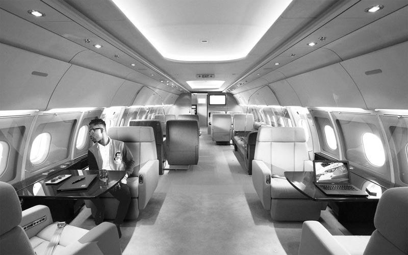 Adekunle Gold helps Twitter user fly private jet (kinda)