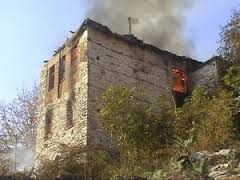 Restored Musine Kokalari's house in Gjirokastra