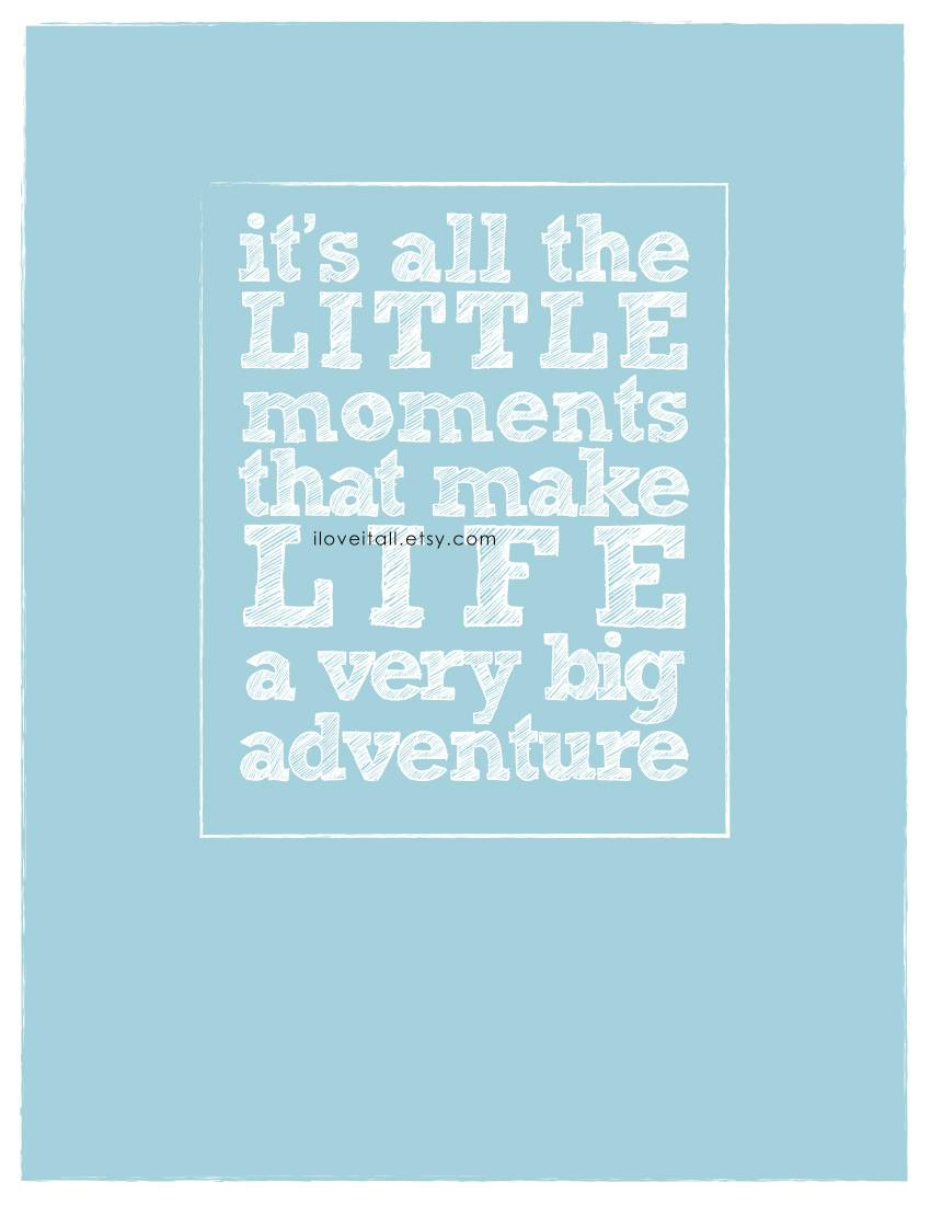 It's All The Little Moments | Monika Wright