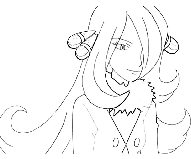 cynthia coloring pages - photo#6