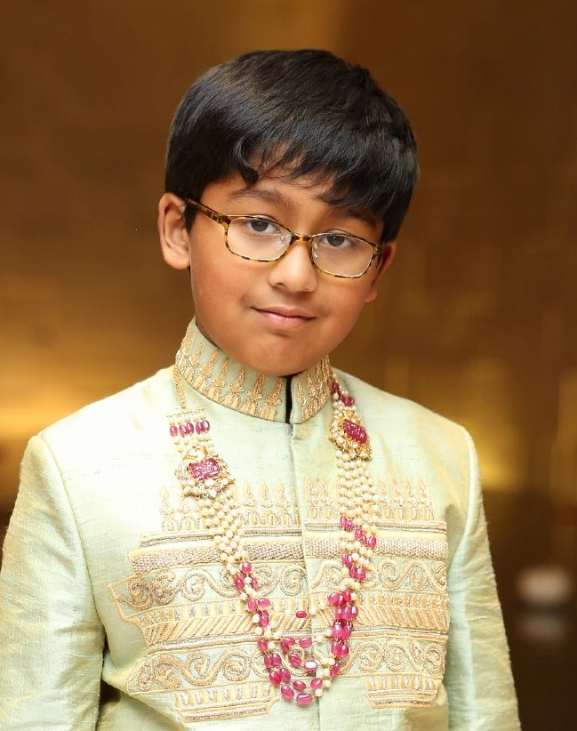 Small Boy in Beads Haram