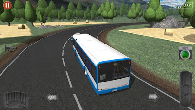 Tampilan Game Public Transport Simulator