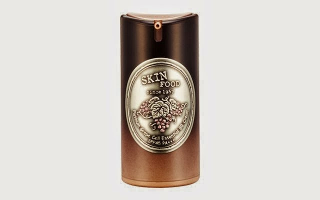Skinfood Platinum Grape Cell Essential BB cream SPF45 PA+++ pump bottle