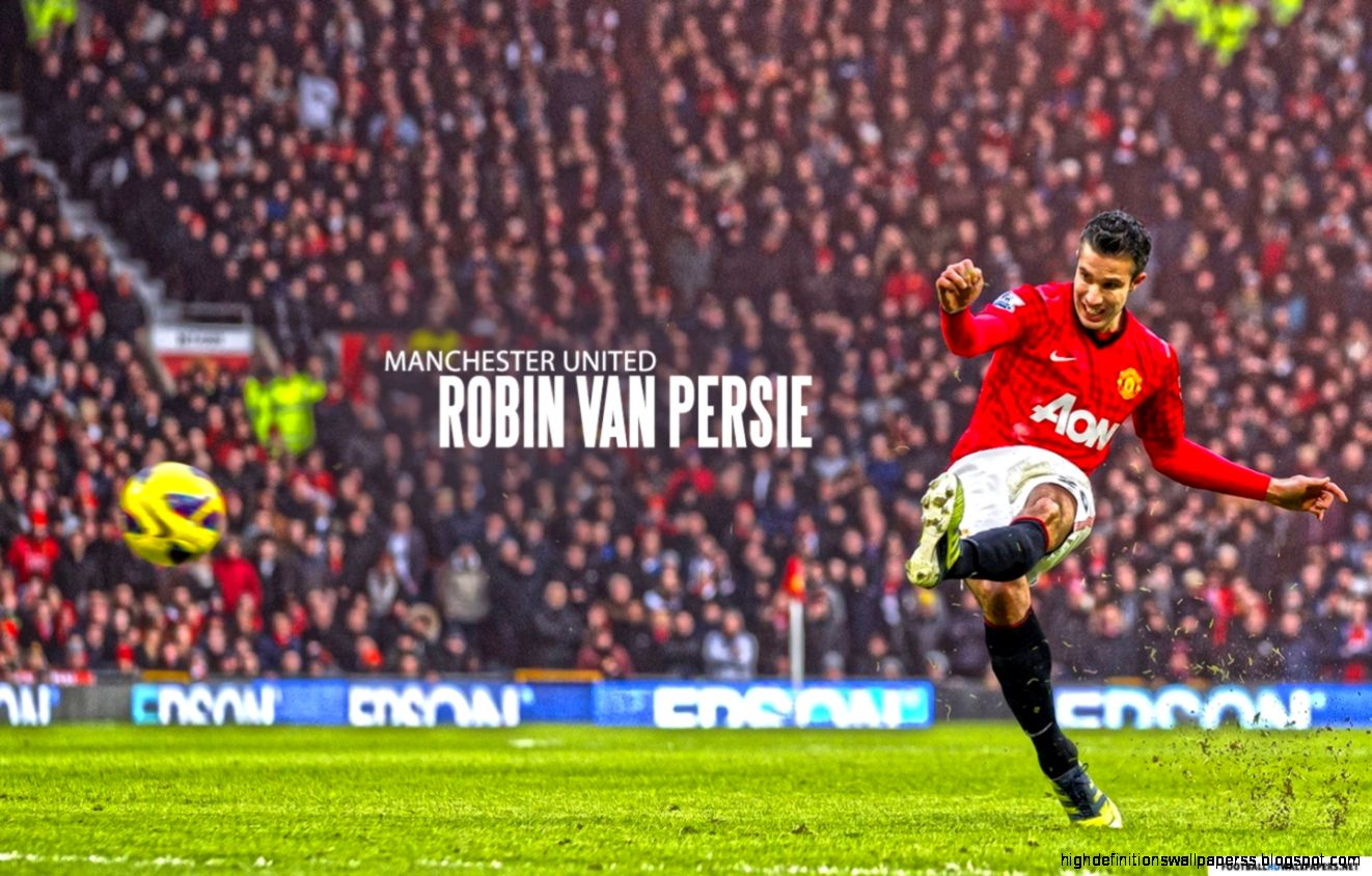 High Quality Manchester United Wallpapers: Wallpaper Manchester United Player Robin Van Persie