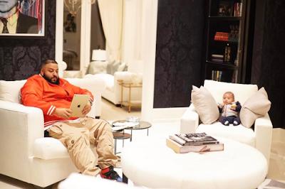 Beautiful photo of DJ Khaled and his adorable son, Asahd Khaled