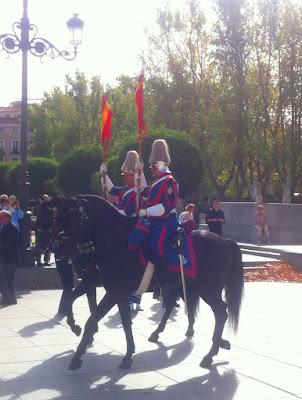 Wachen Madrid Wachwechsel