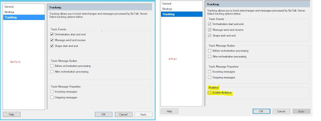 BizTalk feature Pack1 enable Application Insight send port