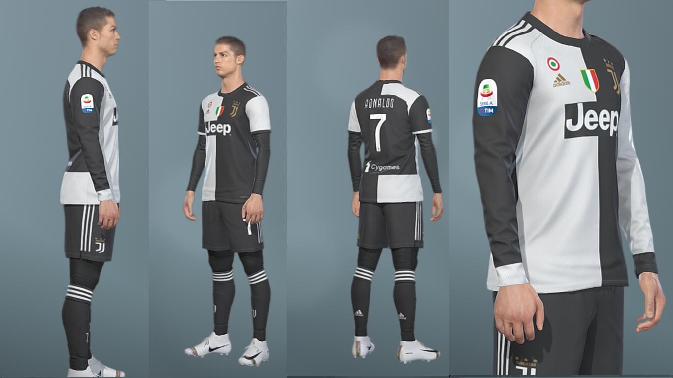Juventus KitPack | Season 2019/20 | PES2019 | PC | PS4 | Pes