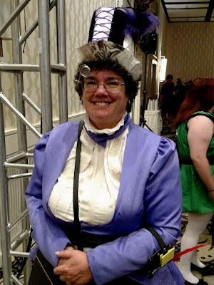 Best in show - Steampunk Librarian!