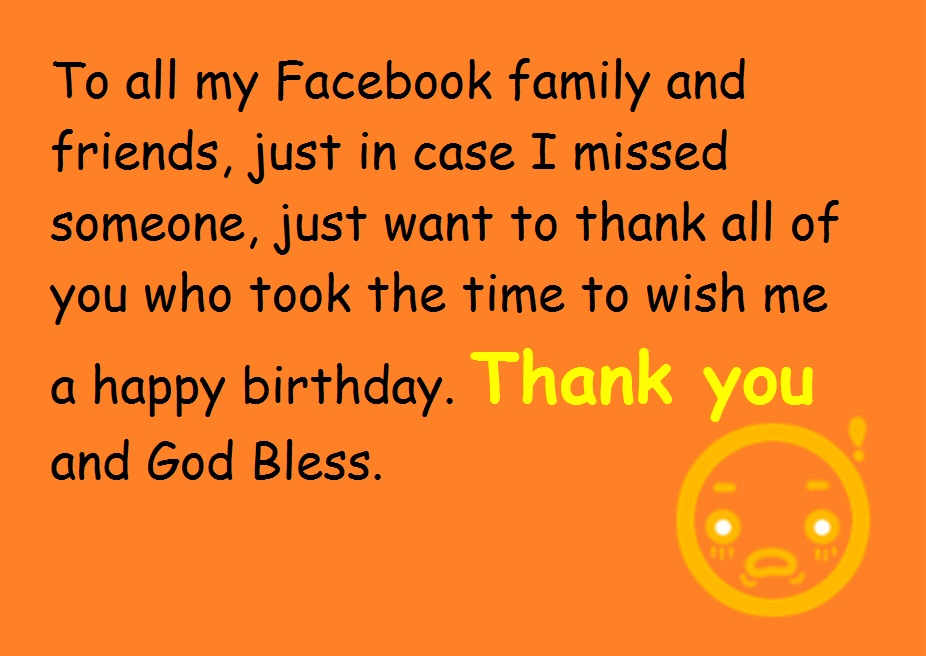Thanks for the Birthday Wishes Notes and Quotes – Thanks for the Birthday Greeting