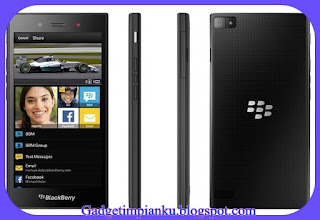Daftar harga blackberry baru dan bekas Blackberry Z3.jpg