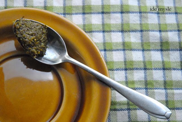 jodłowa przyprawa, przyprawa do sosów pomidorowych, fir jam
