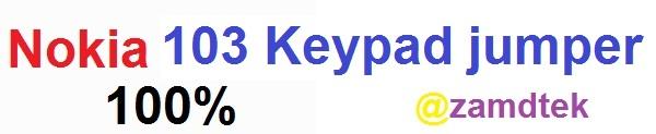 Nokia 130 keypad solutions jumpers
