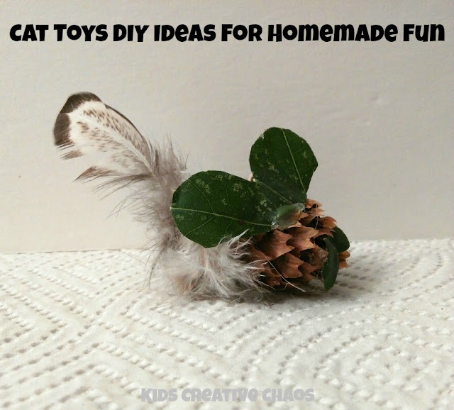Cat Toys DIY Ideas for homemade fun