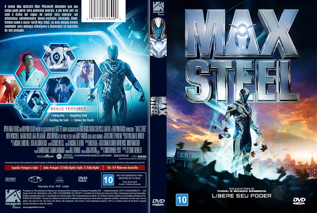 Capa DVD Max Steel [Exclusiva]