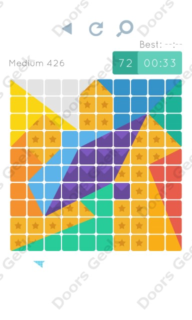 Cheats, Walkthrough for Blocks and Shapes Medium Level 426