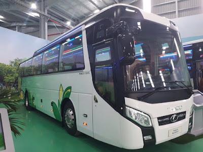 Mua xe ô tô khách Thaco 120S 47 chỗ ngồi tại Hải Phòng giá tốt hỗ trợ trả góp