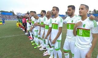 موعد مباراة الجزائر ضد توغو