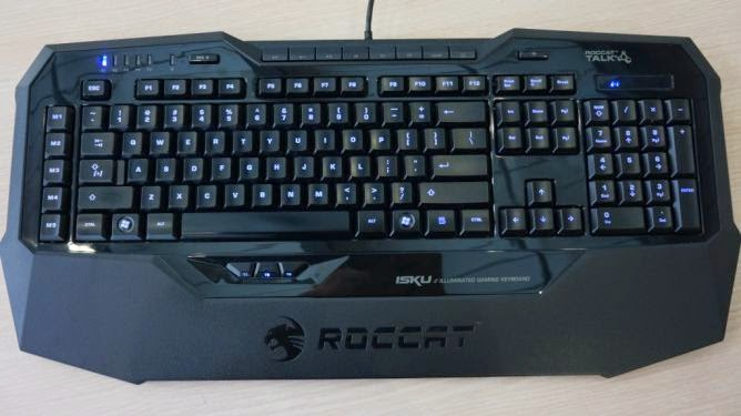 Review keyboard roccat isku terbaru April 2015 : made in Germany