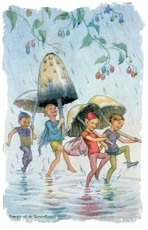 Wolf Moons And Muddypond Green Rain Rain Go Away Dull