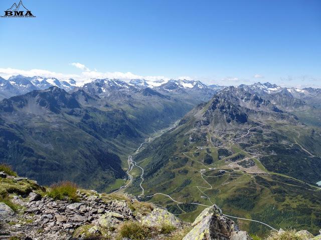 Silvretta hochalpenstrasse - Wandern Galtür - wanderblog