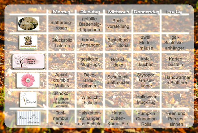Topinambur-Birnen Rohkost-Salat, Rezept, DIY, Geschenkbox aus Walnußschalen, Geschenkverpackung, Ziegenweichkäse, geröstete Walnüsse, Nähblogger-Themenwoche Laubgeflüster,