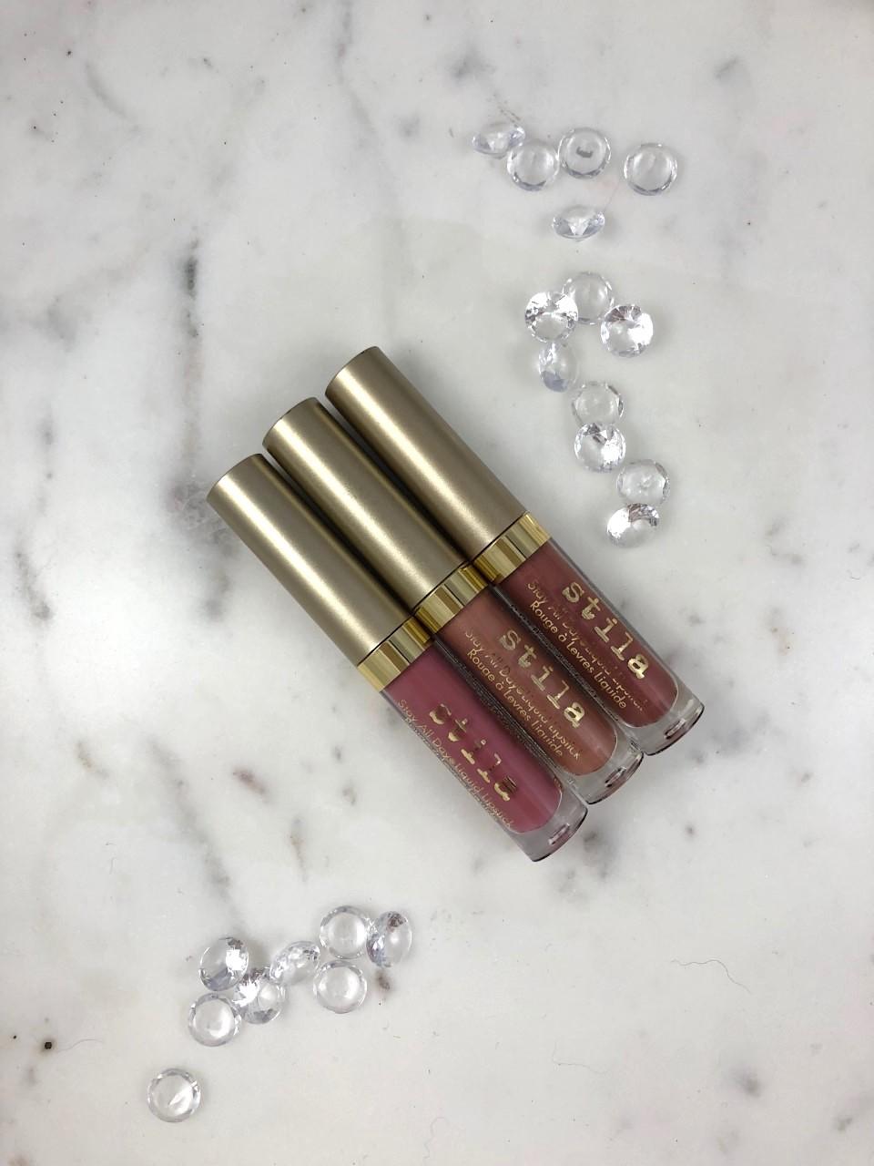 Stila Holiday 2018 Nude Attitude Mini Stay-all-day Liquid Lipsticks: A quick review
