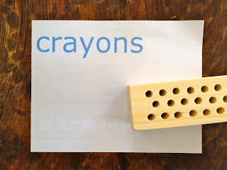 how to make a scrap wood crayon holder