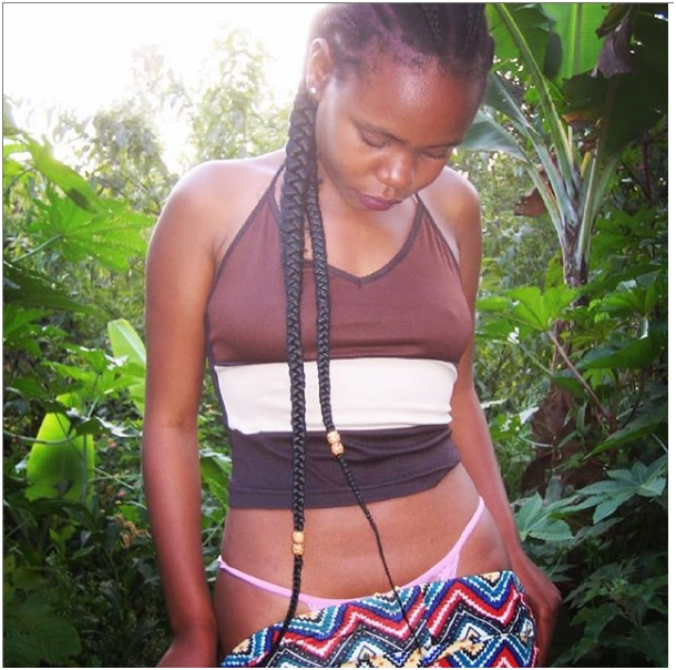 """10 - Struggling Kalenjin socialite, CHEBET PINKIE, disturbs men's whoppers with new thirst traps, she even showed her huge """"bean"""" (PHOTOs)"""