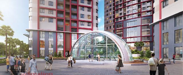 Cảnh quan dự án Imperial Plaza
