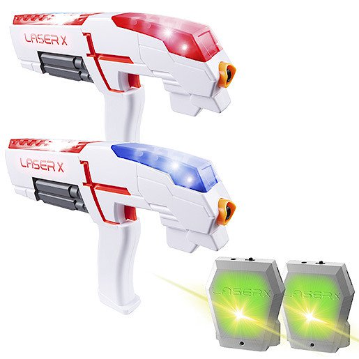 448d6084d8fe Laser X – 2 Player Pack The Entertainer £44.99