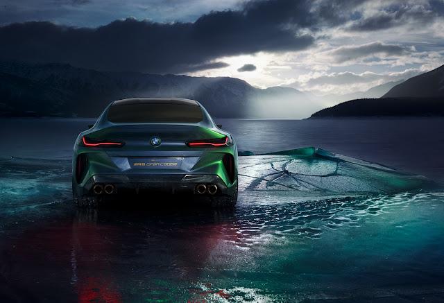 BMW Concept M8 Gran Coupé: fotos e detalhes