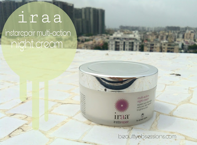 Iraa Instarepair Multi-Action Night Cream  - Review