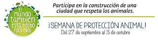 SEMANA DE PROTECCIÓN ANIMAL 2015