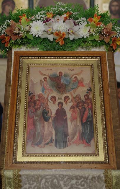 Праздник Вознесения Господня в Софийском Свято-Успенском соборе. ФОТО